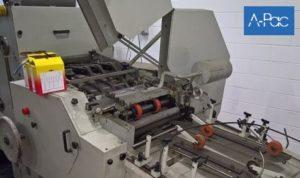 Flat/Satchel bag making machine with in-line printer