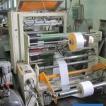 Flat/Satchel bag making machine with window film application
